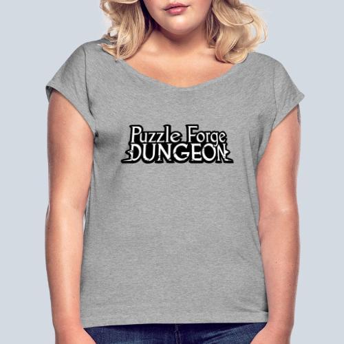 Puzzle Forge Dungeon - T-shirt à manches retroussées Femme