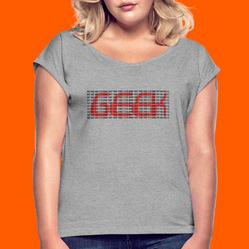 GEEK Octal - T-shirt à manches retroussées Femme