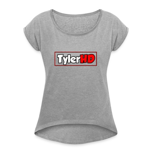 TylerHD MOUSE MAT - Women's T-Shirt with rolled up sleeves