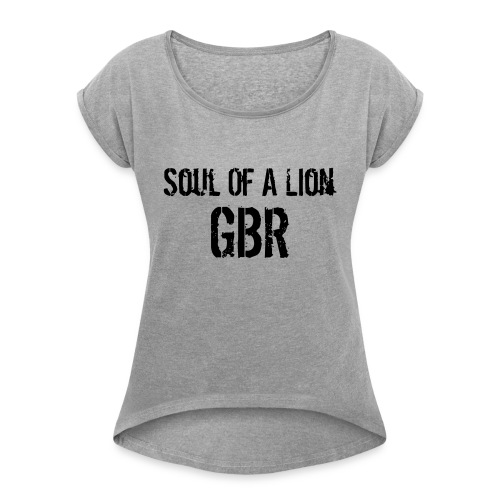 gbuwh3 - Women's T-Shirt with rolled up sleeves