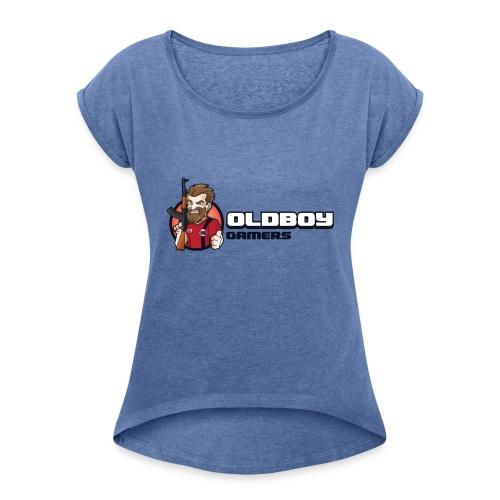 Oldboy Gamers Fanshirt - T-skjorte med rulleermer for kvinner