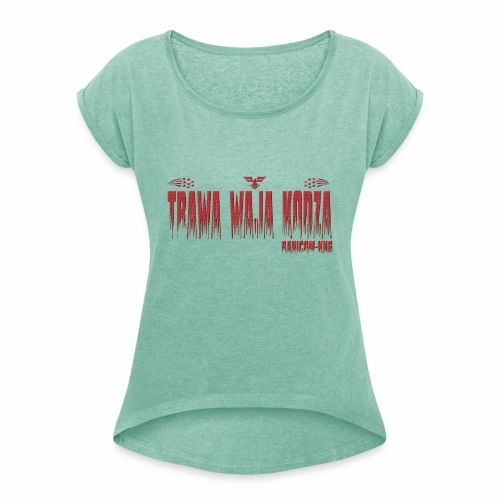 KNG RN - T-shirt à manches retroussées Femme