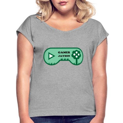 Joueur Jayson - T-shirt à manches retroussées Femme