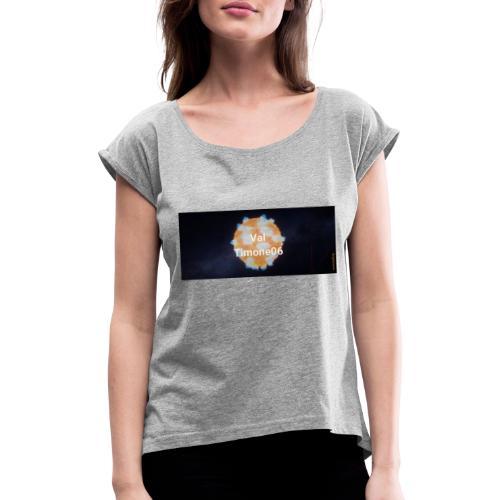 DOS SIMPLY TV - T-shirt à manches retroussées Femme