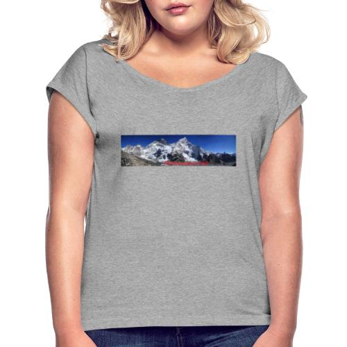 panoramique Everest - T-shirt à manches retroussées Femme