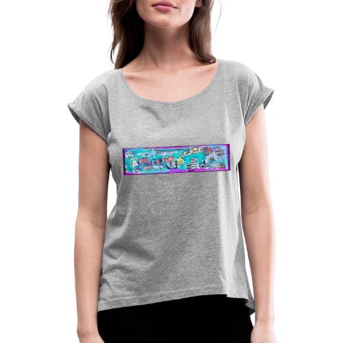 Frases de Elnota.ibz - Camiseta con manga enrollada mujer