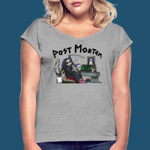 Post Mortem - Still Alive - T-shirt med upprullade ärmar dam