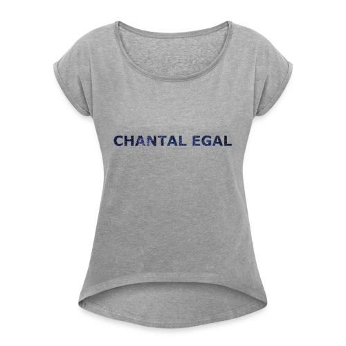 Chantal Egal Electronica Leipzig Ambient - T-shirt à manches retroussées Femme