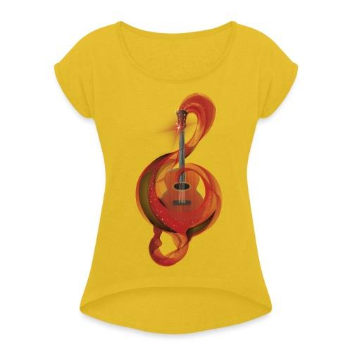 Power of music - Maglietta da donna con risvolti