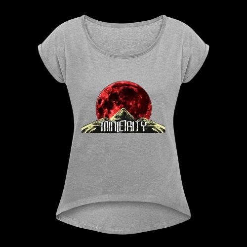 Blood Moon - T-shirt à manches retroussées Femme