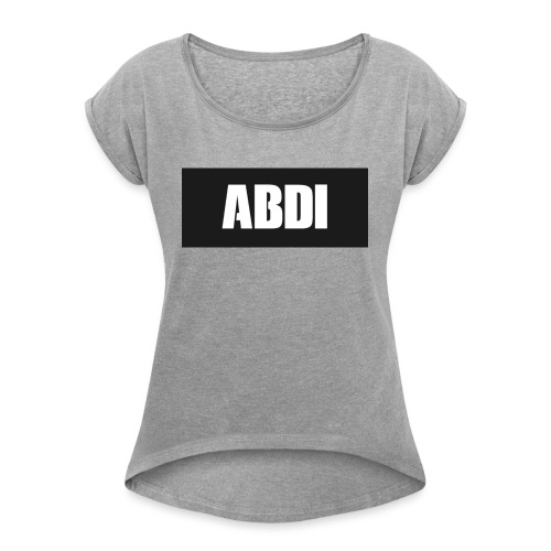 Abdi - Women's T-Shirt with rolled up sleeves