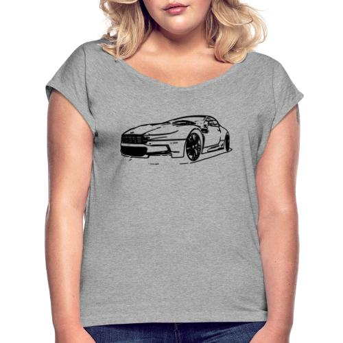 Aston Martin - Women's T-Shirt with rolled up sleeves