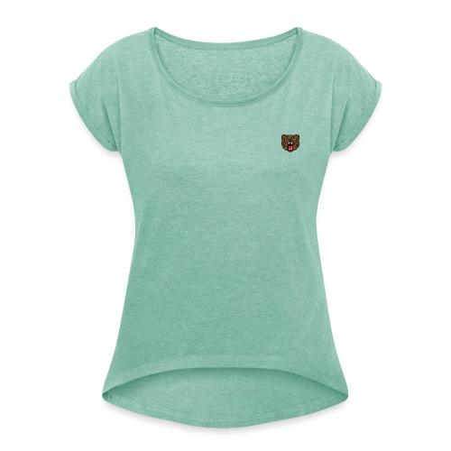 Ursus - Dame T-shirt med rulleærmer