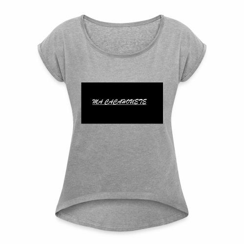 CACAHOUETE - T-shirt à manches retroussées Femme