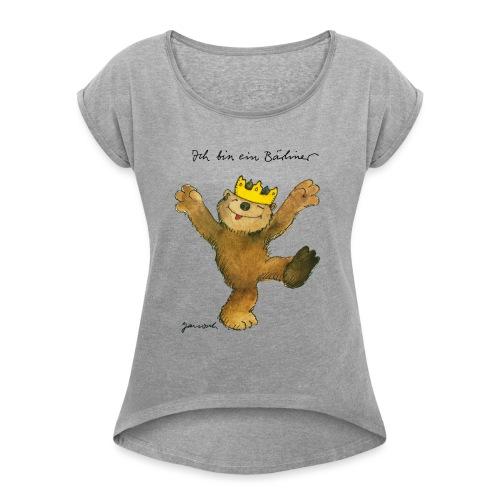 Janosch Kleiner Bär Ich Bin Ein Bärliner - Frauen T-Shirt mit gerollten Ärmeln