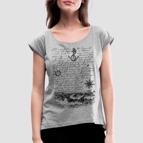 Preghiera del marinaio - Maglietta da donna con risvolti