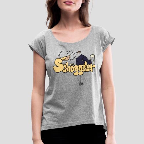 Schoeggeler Final New Col - Frauen T-Shirt mit gerollten Ärmeln