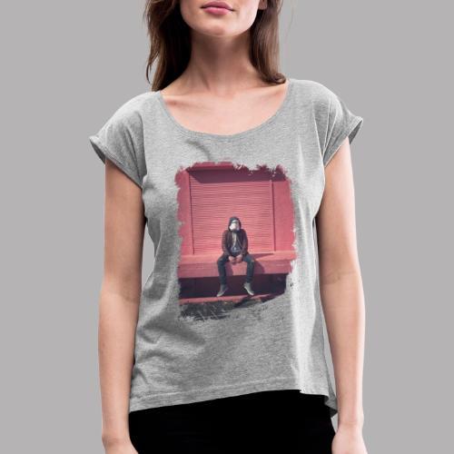 TrooperNEW - Frauen T-Shirt mit gerollten Ärmeln