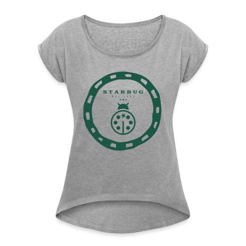 Starbug - Frauen T-Shirt mit gerollten Ärmeln
