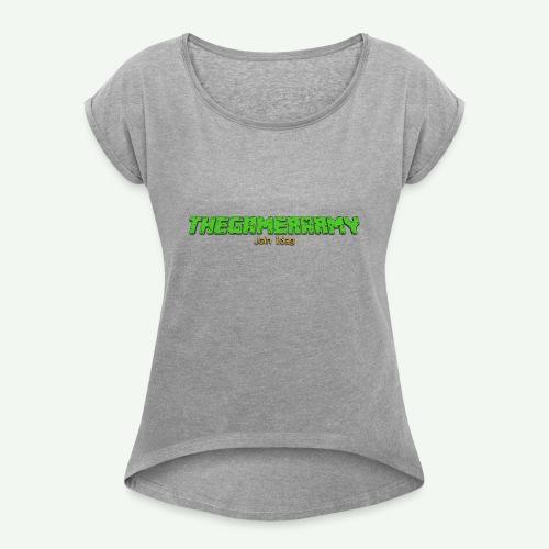 TheGamerArmy Join Idag - Dame T-shirt med rulleærmer