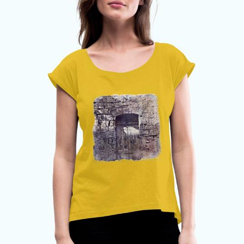 Vintage monochrome - Women's T-Shirt with rolled up sleeves
