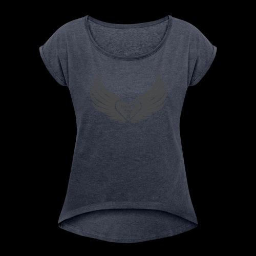 Work for it - T-shirt à manches retroussées Femme
