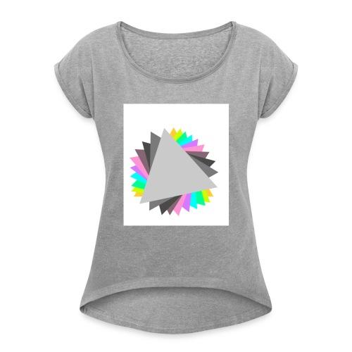 Motivo 2 - Maglietta da donna con risvolti