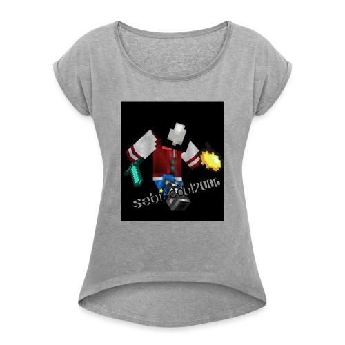 Sebastian yt - Dame T-shirt med rulleærmer