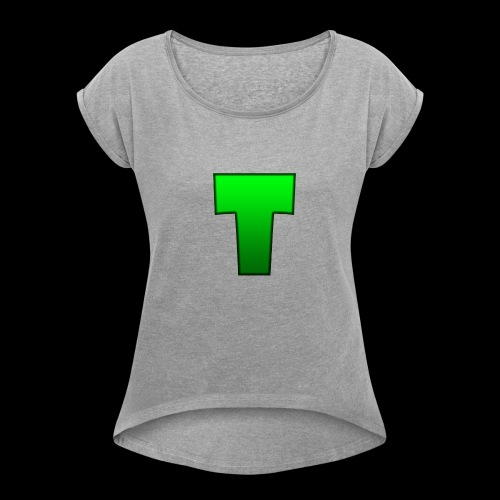 T merch - Maglietta da donna con risvolti