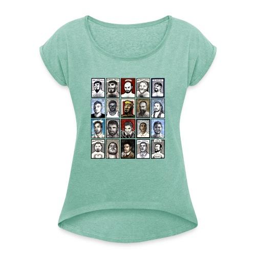 ACEO - Maglietta da donna con risvolti