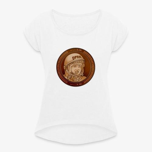 KIM Token - T-shirt à manches retroussées Femme