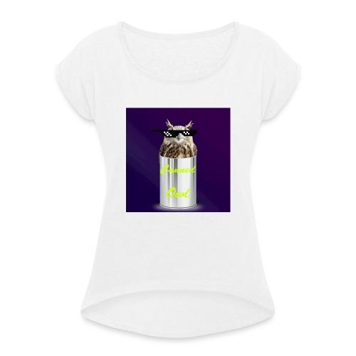 1b0a325c 3c98 48e7 89be 7f85ec824472 - Women's T-Shirt with rolled up sleeves