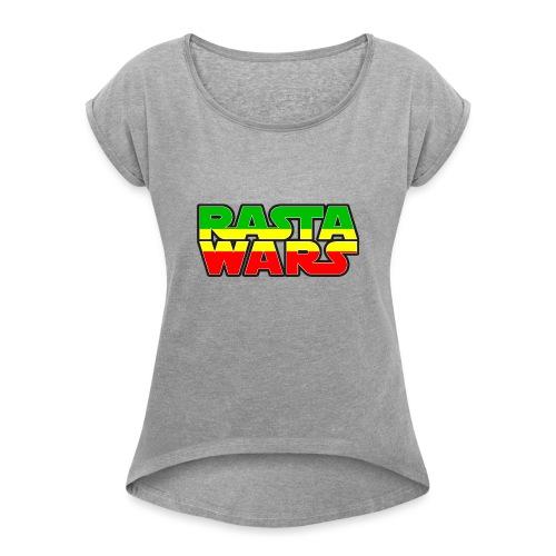 RASTA WARS KOUALIS - T-shirt à manches retroussées Femme