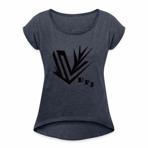 dpj - T-shirt à manches retroussées Femme
