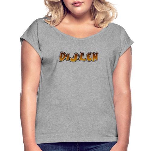 DIJLEN - Vrouwen T-shirt met opgerolde mouwen