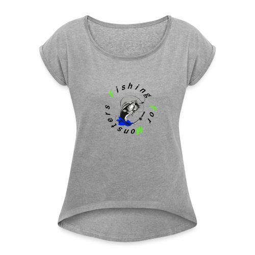 FFM - Women's T-Shirt with rolled up sleeves