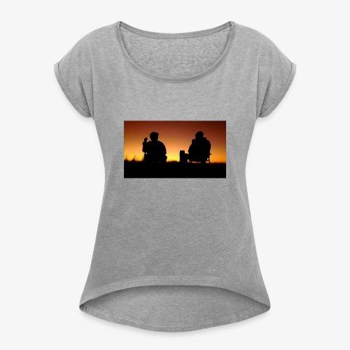 Walter and Jesse - Frauen T-Shirt mit gerollten Ärmeln