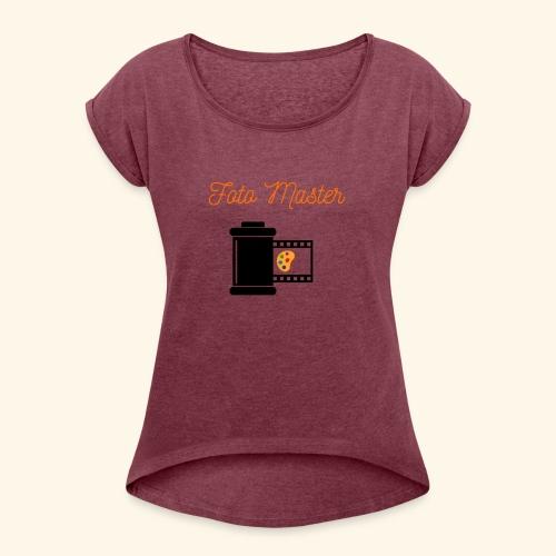 Foto Master 2nd - Dame T-shirt med rulleærmer