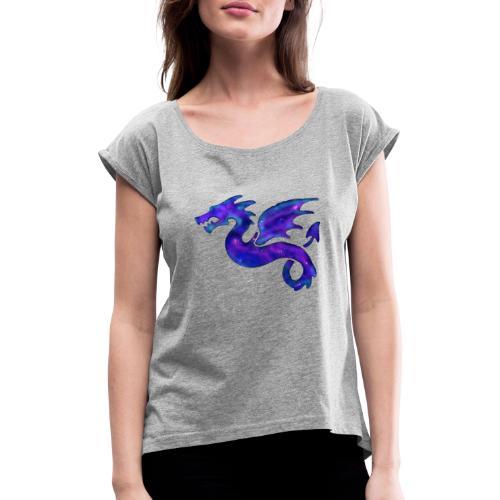 Drago - Maglietta da donna con risvolti