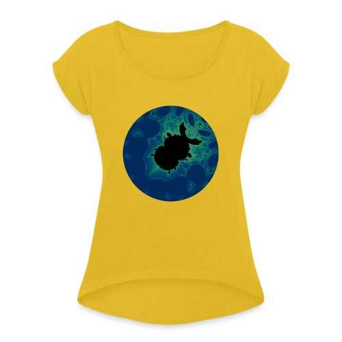 Lace Beetle - Women's T-Shirt with rolled up sleeves