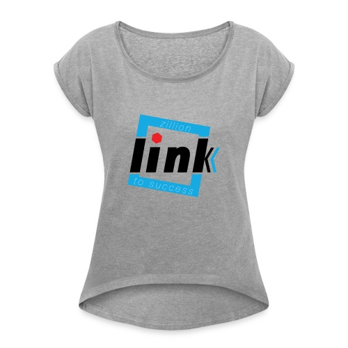 4000x4000 - Women's T-Shirt with rolled up sleeves