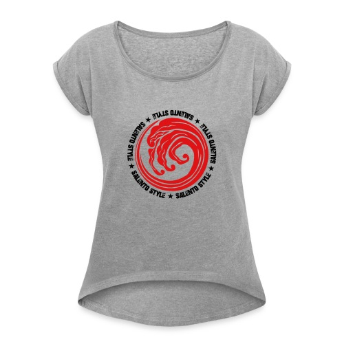 salento style - Maglietta da donna con risvolti