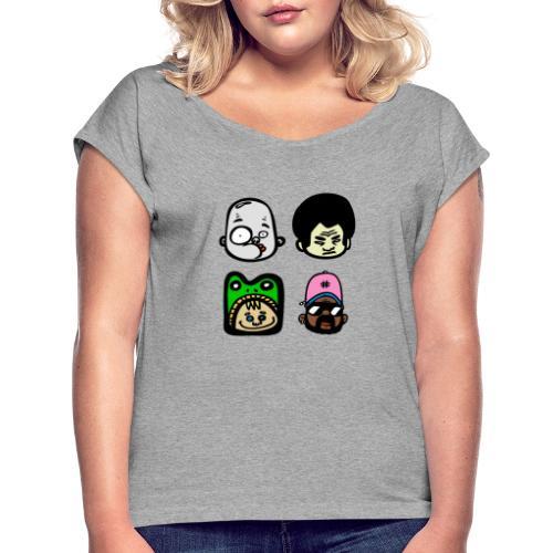FACE - Maglietta da donna con risvolti