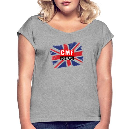 CMF RADIO UNION JACK - Women's T-Shirt with rolled up sleeves