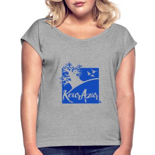 Keur Azur - T-shirt à manches retroussées Femme