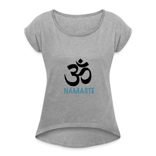 NAMASTE - T-shirt à manches retroussées Femme