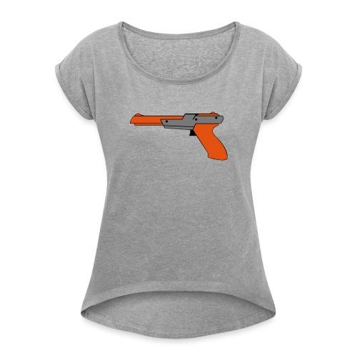 gun Zapper NES SUPER BROS HUNT DUCK - T-shirt à manches retroussées Femme