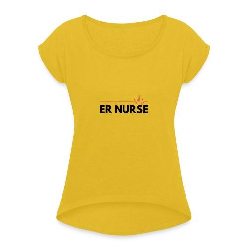 Er nurse - Maglietta da donna con risvolti