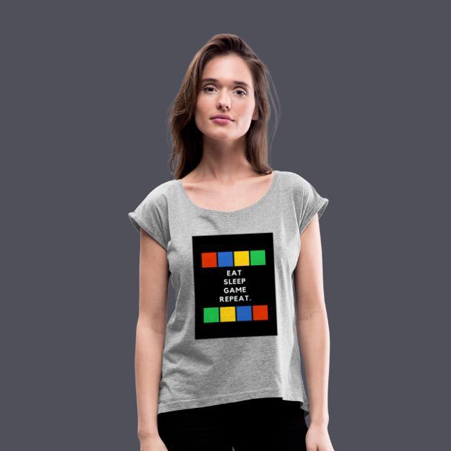 Eat, Sleep, Game, Repeat T-shirt