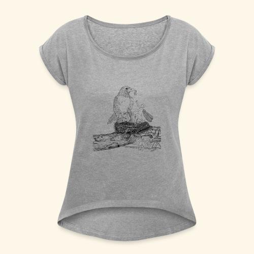 fata nido - Maglietta da donna con risvolti